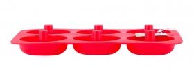 Силиконовая форма для пончиков Kamille 7760