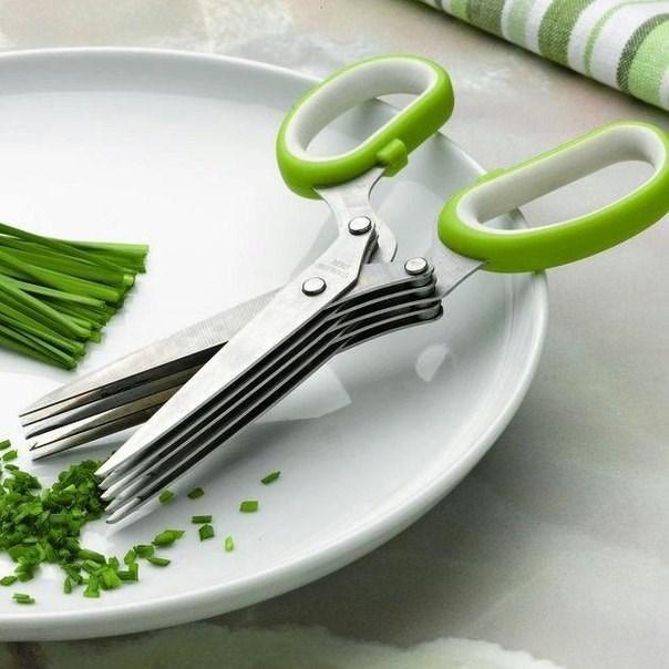 Ножницы с мульти-лезвием для зелени