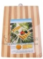Доска разделочная дерево бамбук